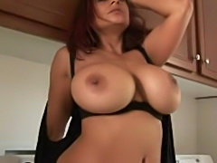 Sexy housewife with hugetits hardly fucked  free
