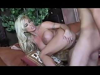 Holly Halston is horny for young cock