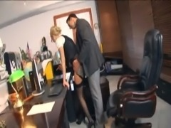 Secretary fucking in stockings and stilettos free