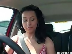 Danica Plays With Her Pussy