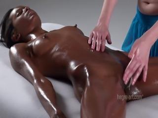 Lesbian orgasmic massage