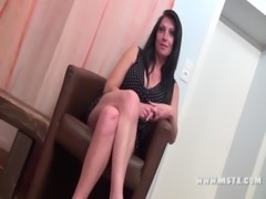 French MILF bitch Cristale make a casting to have her 1st porn experience!Sexy!! free