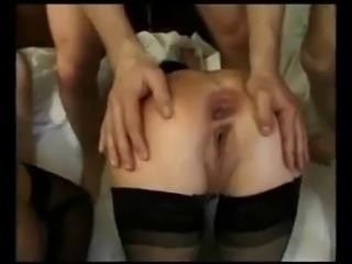 Dirty screaming hard anal milf mature dp fuck pain gape
