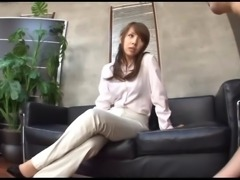 asian mature CFNM assjob teasing (censored) p2