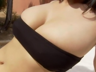 Busty german with pierced vagina
