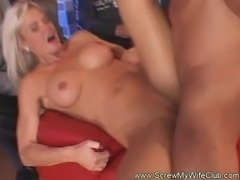 Hot Blonde Swinger Slut Fucked
