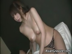 Awesome brunette asian hoe with great