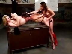 Femdom fetish bitches fuck