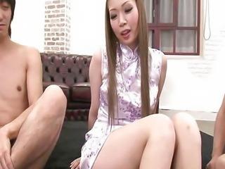 Warm Creampie For Ayumi Kobayashis Pussy