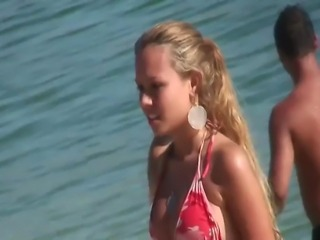 Hot Bikini beach Topless Teens