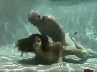 Underwater blowjob compilation