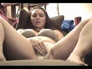 licks her own vaginal discharge