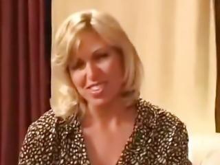 Mature Pornstar Interview 001