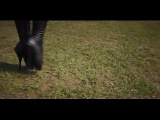 Ballet Heels & Latex Cutie -2
