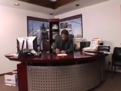 Hot Busty Secretary Hard Fucked by Boss