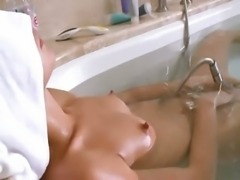 Petite russian princess in the hot bath