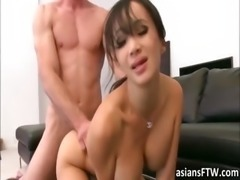 Hot Asian pornstar Katusni fuck n facial