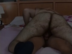 20 year old Czech boy riding an older hairy German guy