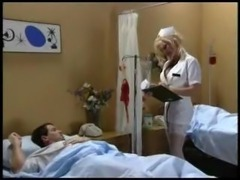 Stacy Valentine - Nurse Handjob