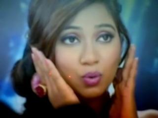 Bollywood Seductive Sexy  Shreya Ghoshal facial cum shot