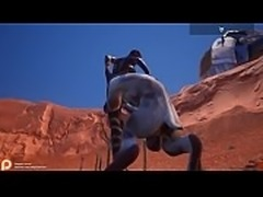 Wild Life game furry 3d animation goat human sex woman