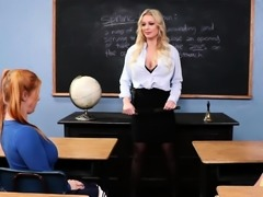 Professor anal exam two lesbian students