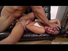 Monster cock punishment Rough anal fuck-a-thon for Lexy Bandera&#039_s