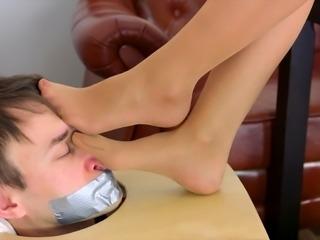 Fetish Femdom Horny Woman Enjoying Cruel Fetish Sex
