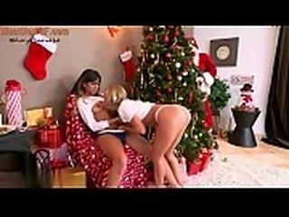Moms Bang Teen  - Best Christmas ever | visit HookupToF.Com