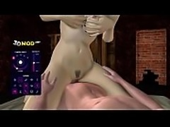 Hot Games sexynari foursome with big tits 3D babes