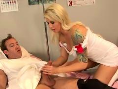 Big Tits Nurse Fucks