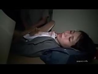 Unconscious schoolgirl fucked in toilet