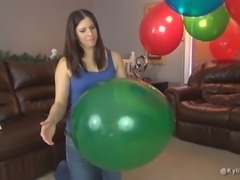 How to Pop Party Balloons