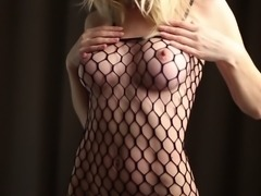 Hot Fishnet Bodystocking Fuck