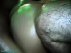 her first extreme rough oiled gangbang orgy