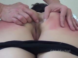 Can't Fuck My Virgin Asshole - Mrs Mischief asshole play closeup cumshot