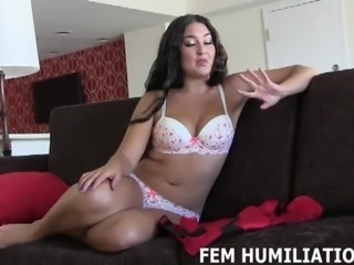 I will make you into a real sissy girl cock slut