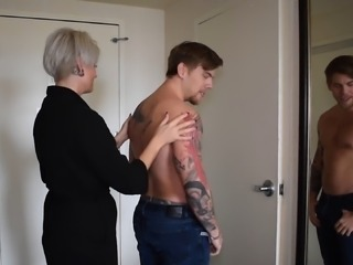 Family Taboo. Tattooed Mom Fucks Stepson - Ava Minx
