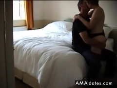 Fun in Hotel Bedroom