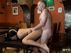 Old man cums inside pussy Can you trust your gf leaving