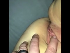 Wife bound with rope then fingered, shagged and fucked in ass