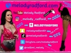 #5 Melody Radford Play With Feet Dildo Foot Sex And I Cum