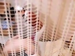 Naughty Japanese nurse in uniform works her magic on a cock