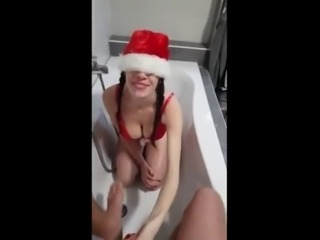 Beautiful Teen drinking her own Menses with Piss, Saliva and Sperm during Extreme Amateur Fuck