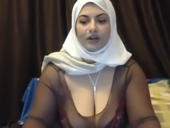 Indian BBW's saggy tits