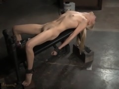 Odette Delacroix [ Bdsm & Skinny _ Dildo and vibrator , Deep blowjob , Shav