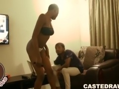 I ignored my naija slutty stepsis till she let me slide my big fat cock in...
