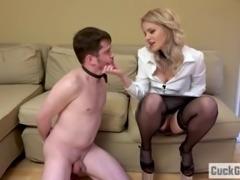 Sissy Husband becomes a cuckold