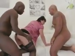 2 BBC for grandma with lack of sex