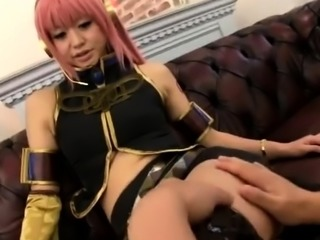 Bodacious Japanese cuties in uniform indulge in wild sex